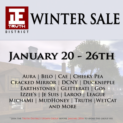 Truth District Group Exclusive Winter Sale