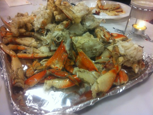 crab feed.