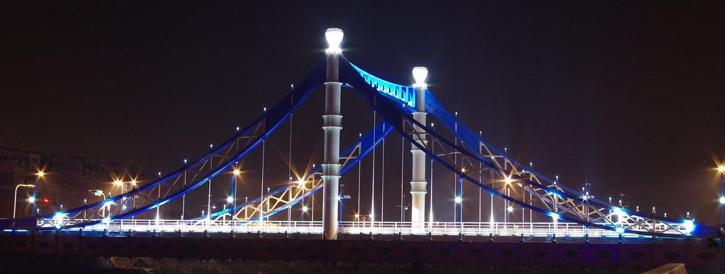 靠近大坑的四座橋