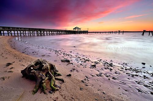 usa beach sunrise virginia pier nikon explore filter hitech leesylvaniastatepark d7000