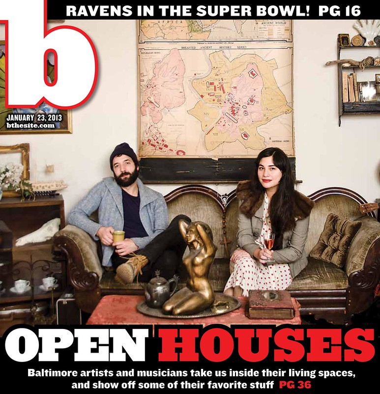 "b Weekly ""Open Houses"" cover."