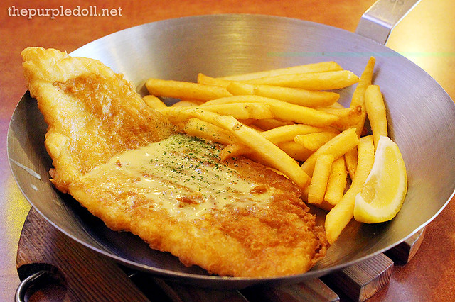 The Best Fish & Chips in Town P435