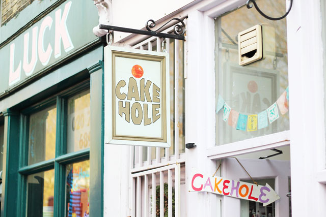 Cake Hole cake shop Columbia Road