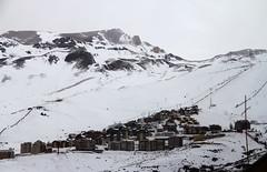 Estrada de Santiago ao Valle Nevado