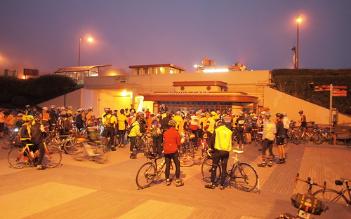 Riders gathering