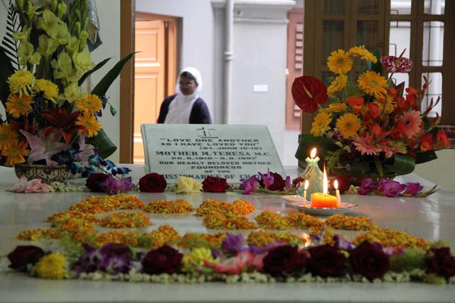 Tomb of Mother Teresa