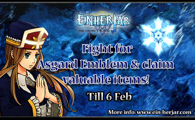 Rival for Asgard Emblem in Einherjar World