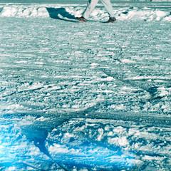 arctic ocean, arctic, glacial landform, melting, glacier,