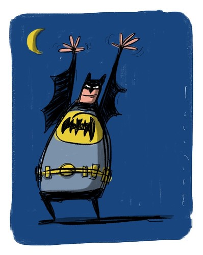 I'm Batman by Stefan Marjoram