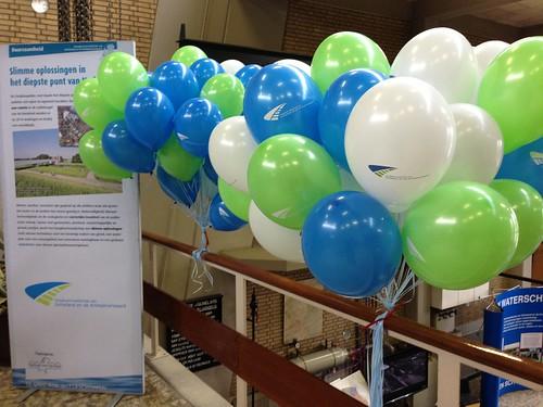 Heliumballonnen Bedrukt Hoogheemraadschap van Schieland en de Krimpenerwaard