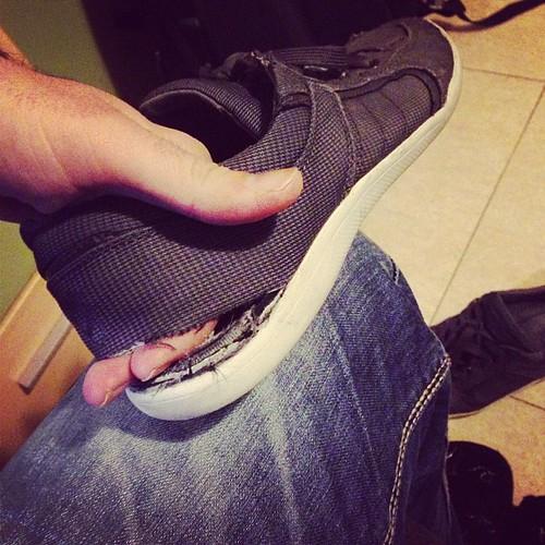 Notaba yo un fresquito en los pies...