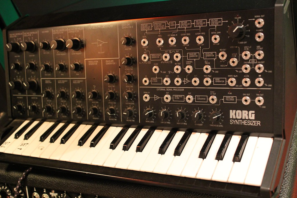 Junkie XL Studio 2013 Korg MS-20 | Flickr - Photo Sharing!flickr-free-ic3d pan white
