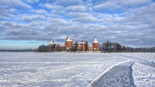 0336 - Lithuania, Trakai, Castle HDR