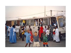 (Archives. Bus à Nouadhibou. Crédit photo : Sachara)