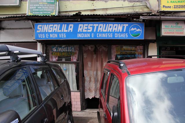 Singalila Restaurant, Darjeeling, India