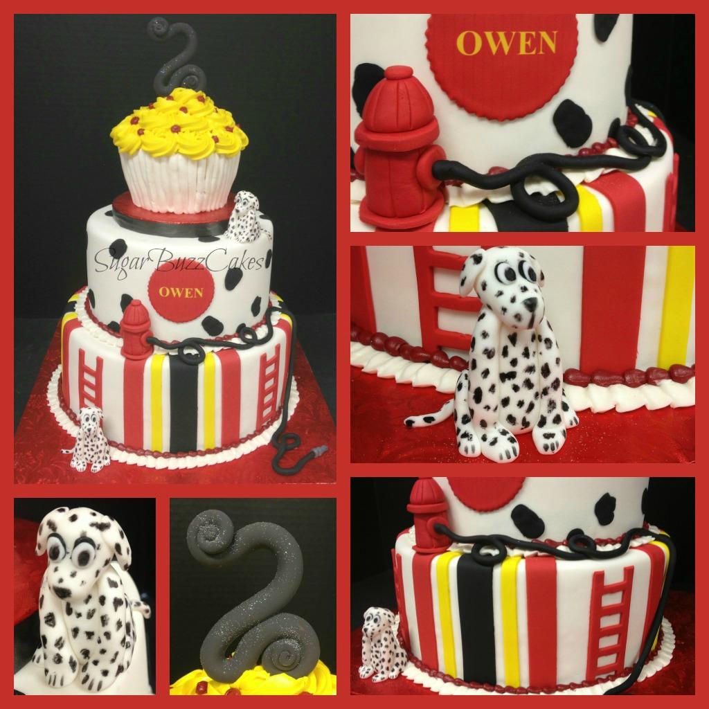 Dalmatians Fireman Birthday Cake A Photo On Flickriver