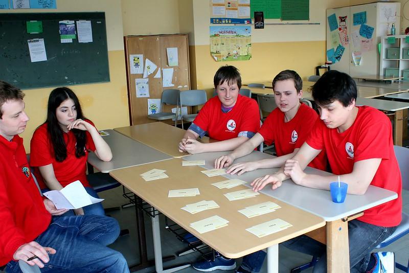 Schulsanitätsdienst-Wettbewerb 2016