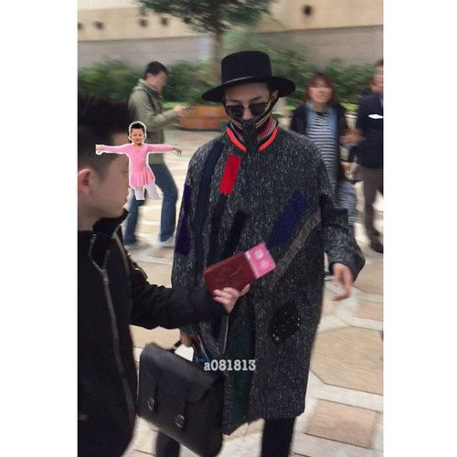 Big Bang - Gimpo Airport - 15jan2015 - G-Dragon - a081813 - 04