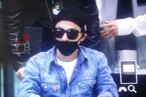 Big Bang - Incheon Airport - 10apr2015 - Tae Yang - Urthesun - 01