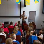 Hugh Holman schools event | © Amy Muir