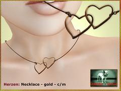 Bliensen - Herzen - Necklace gold