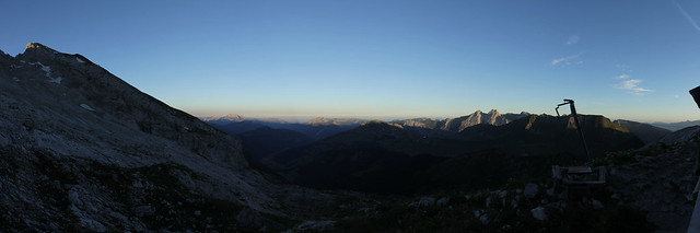 Panoramic view near the Refuge Gramusset