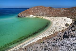 Baja deset and the sea