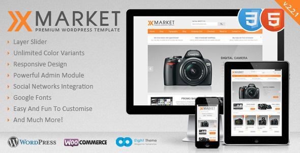 XMarket v2.2.1 - Responsive WordPress E-Commerce Theme