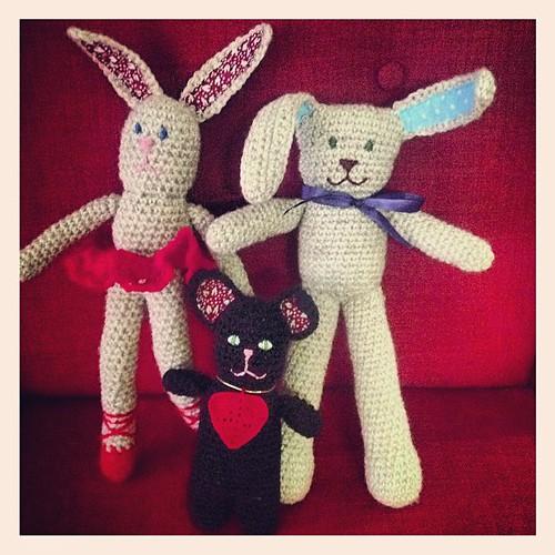 Crocheted toys by dette.k