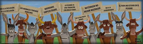 La mula y el buey by alter eddie