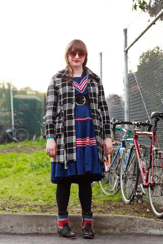 mikki_indie_se street style, women, street fashion, San Francisco, indie mart, Evans Avenue, Quick Shots
