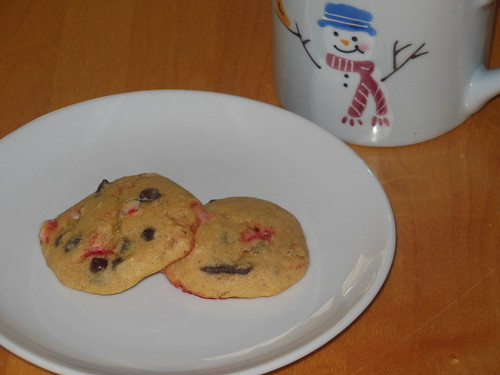 peppermint chocolate chip sugar cookies