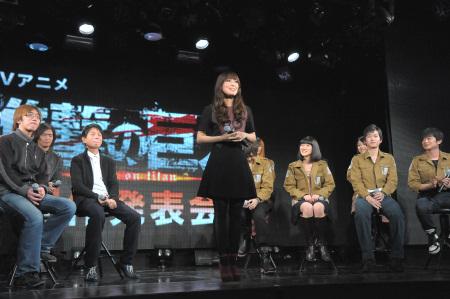 121210(1) – 電視動畫《進撃的巨人》發表8人聲優陣容,「日笠陽子」演唱本片ED曲、2013年出道為歌手! (3/3)