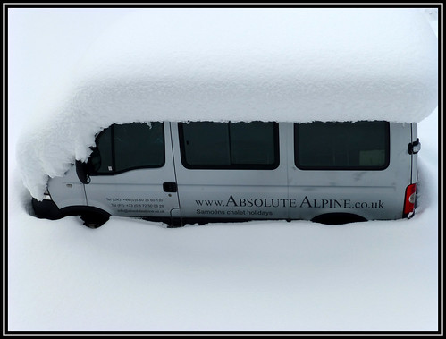 Do you think I need to dig the minibus out?