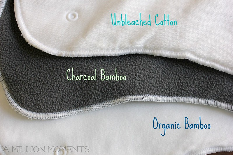 Cloth diaper insert choices