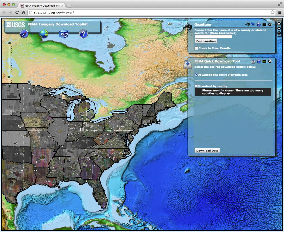 FEMA Imagery Download Toolkit