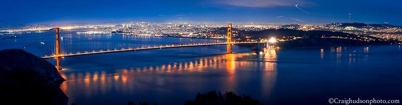 The Golden Gate at Dusk