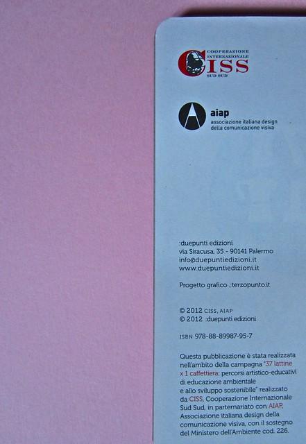 Trentasette lattine per una caffettiera; agenda; :due punti edizioni con CISS e AIAP (part.) 11