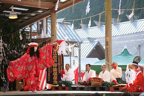 Kagura sacred