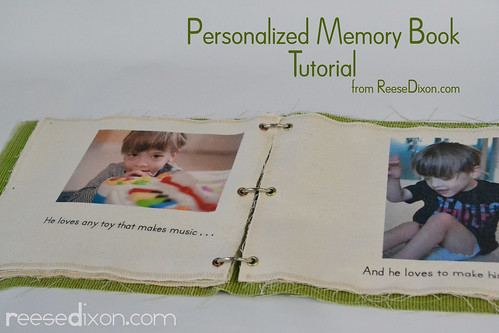 Personalized Money Book Tutorial