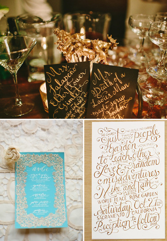 Wedding Stationery via Lovestru.ck