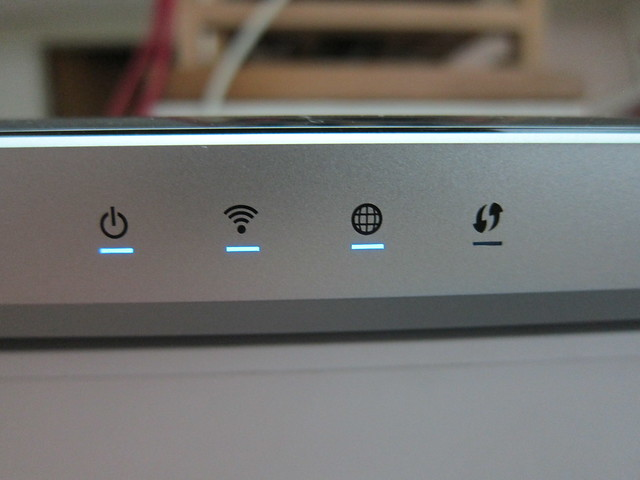 WD My Net N900 Router - LED Indicators