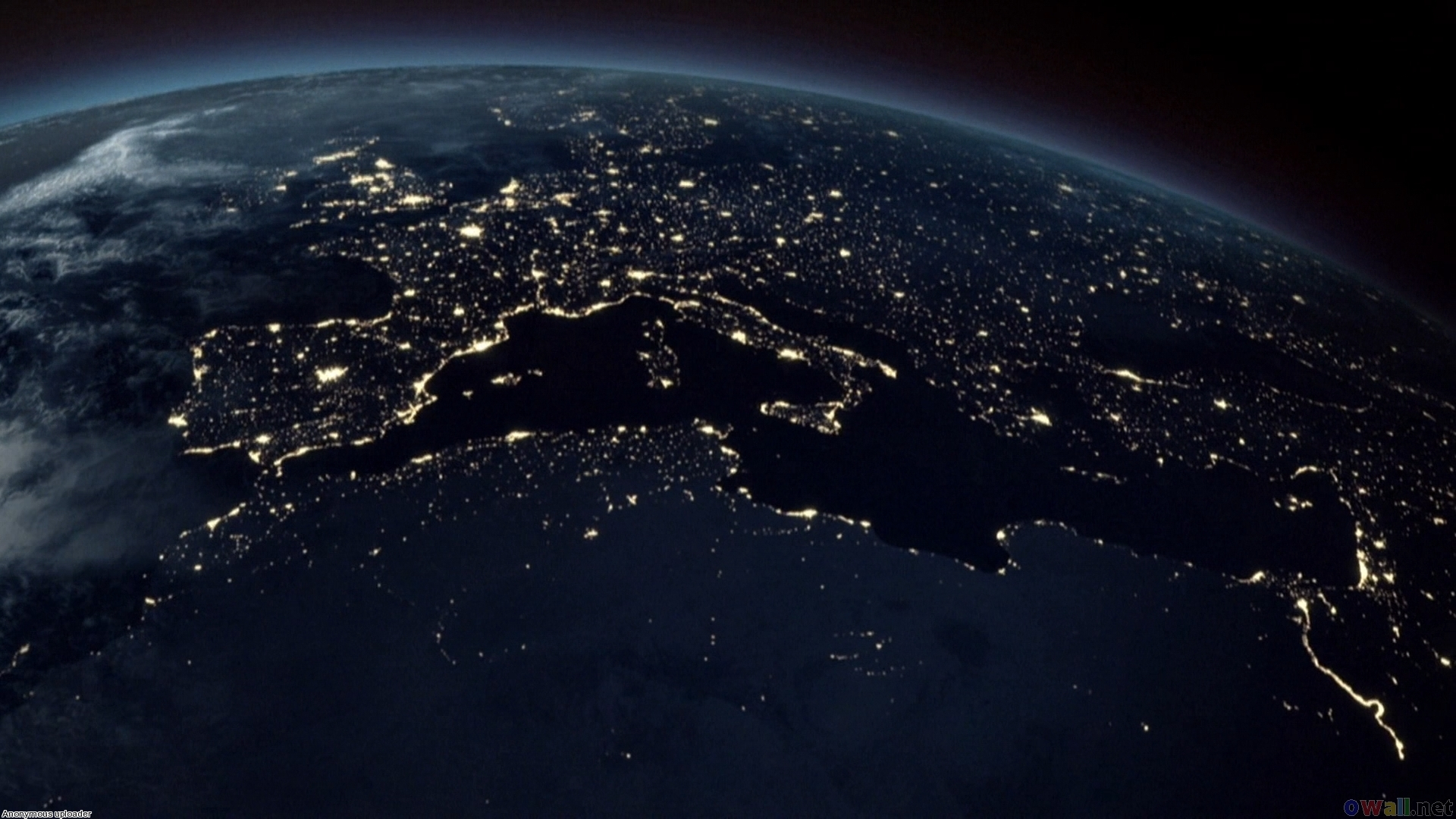 planet earth from space at night - photo #4