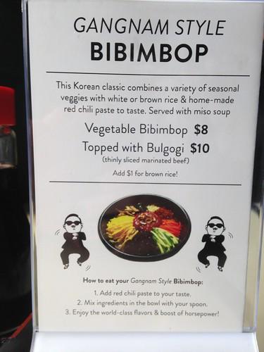 Gangnam Style Bibimbop
