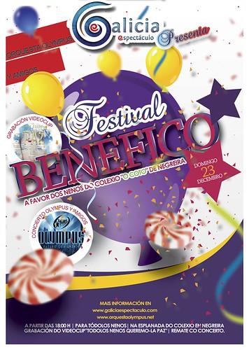 Orquesta Olympus 2012 - Festival benéfico - cartel 2