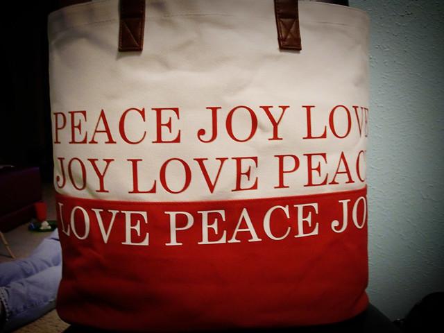 Festive Book Bag