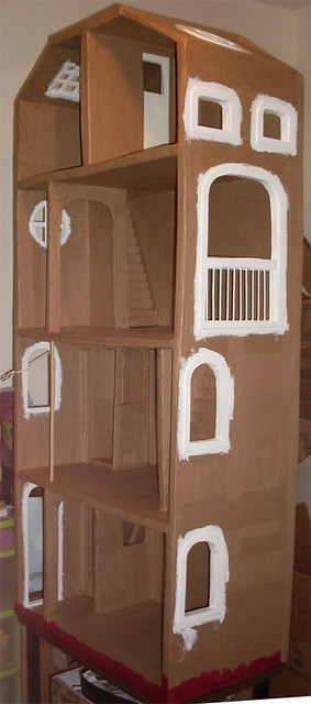BarbieCardboardDollhouse041