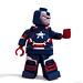Iron Man 3 - Iron Patriot (War Machine) by Solid Brix Studios⁻