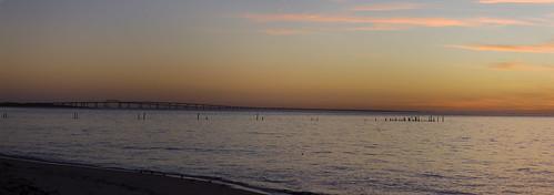 bridge sunset usa beach canon landscape bay virginia tunnel va virginiabeach efs chesapeakebaybridgetunnel 1585 efs1585 cloudsstormssunsetssunrises