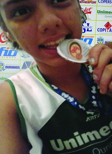 Muito Orgulho desta Medalha - Vice Campeã Estadual Paulista - Série Ouro - 2012 by Caroline Campagni